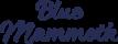 Logo Blue mammoth klein website formaat